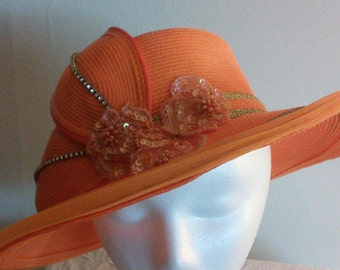 Handmade Women's wedding hat