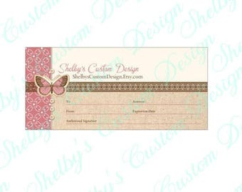 Gift Certificate to Shelby's Custom Design