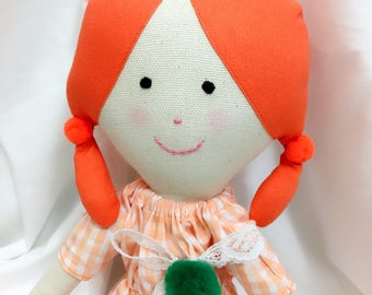 handmade doll cute doll fabric doll rag doll cloth doll girl doll