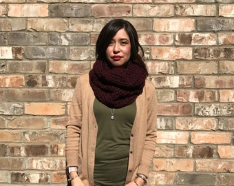 Ready to Ship--The Matteo chunky cowl neck