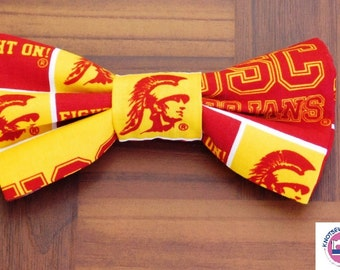 USC Clip on Bow Tie