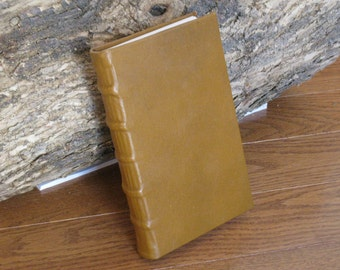 Brown-Yellow Archival Paper Pocket Journal