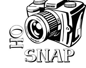 Oh Snap Camera SVG Digital Download File
