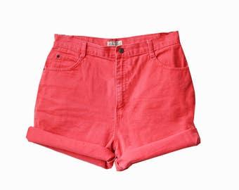 Peachy Vintage High Waisted Shorts