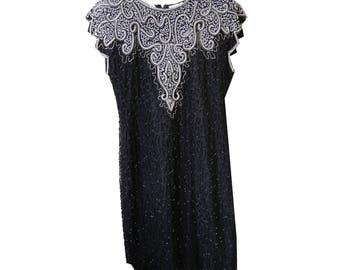 Vintage Hand-Stiched Dress