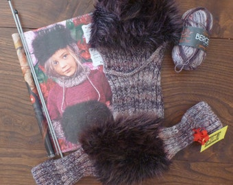 Winter hood and warm hands Slavic folklore for girl 8 to 10 years