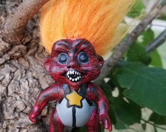 Evil Baby Troll Toy