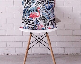 Cushion Cover • Libra the Zebra and Friends