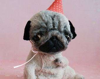 Soft toy puppy pug