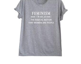 Funny feminist shirts for women t-shirts clothing feminism tshirt print womens rights feminist gift merch size XS S M L