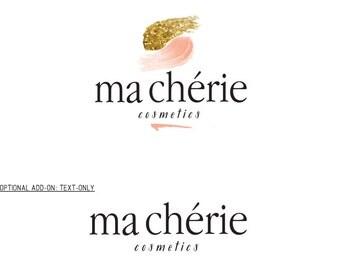 Premade Logo Set, Cosmetics Logo, Custom Logo, Makeup Artist Logo, Boutique Logo, Shop Logo, Shop Sign, Blog Logo, Logo Set, Watermark