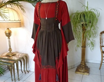 Reception Gown, antique dress, antique gown, ca. 1917