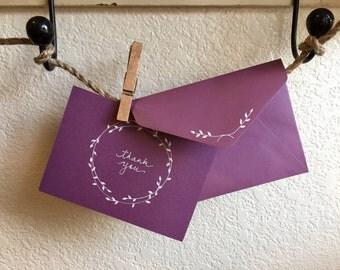Sprig Wreath Notecards [set of 12]