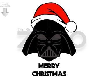 Clip Art Darth Vader Clip Art darth vader clipart etsy disney christmas santa digital clipart