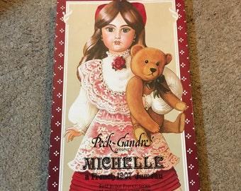 Peck Gandre Paper Doll -Michelle -20 inches