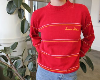 Classic Iowa State University Knit Sweater