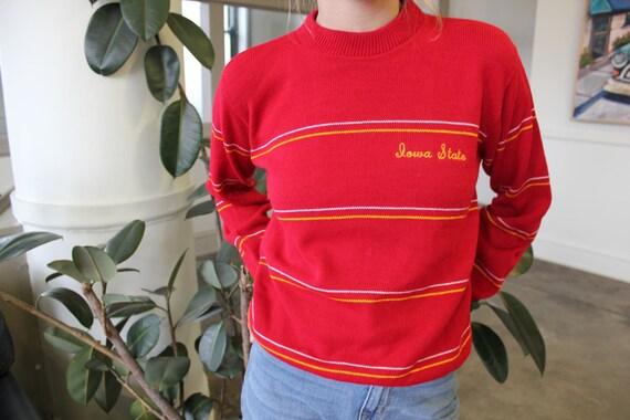 Classic Iowa State University Knit Sweater