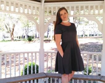 Janie Dress - Women's Dress - Casual Dress - Party Dress - Gray Dress