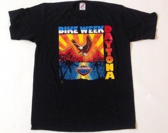 Vintage 80s official Harley-Davidson Daytona Bike Week t-shirt