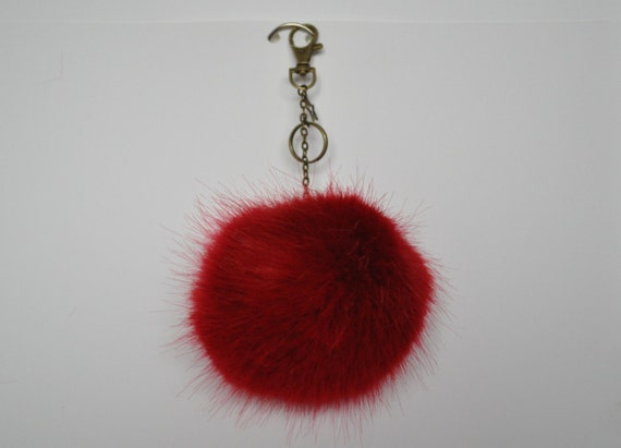Festive Red Pom Pom Decoration