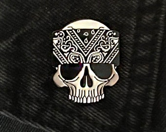 Bone-Dana Enamel Pin