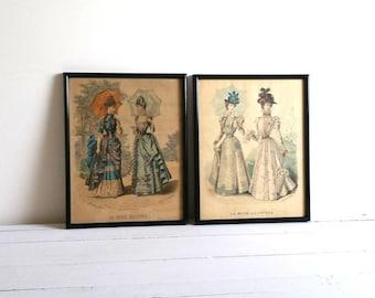 Old print(s) 'La mode illustrée'