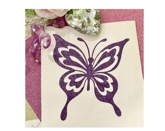 Butterfly decal, Butterfly laptop decal, Butterfly sticker, Butterfly Yeti decal