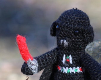 Star Wars, Darth Vader, amigurumi, crochet