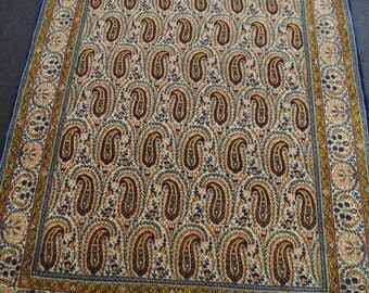 Tpais Persian authentic handmade hands fine of gay, size 203x143cm.