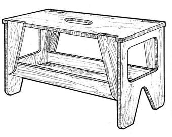 Portable Workbench #919 - Woodworking / Craft Pattern