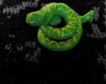 Clay figurine - Snake
