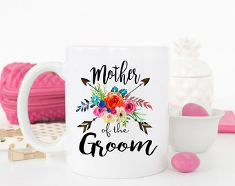 Mother of the Groom, Mother of the Bride, Wedding Gift, Wedding Mug, bridal party gift, Mother of the groom gift, Mother of the groom mug
