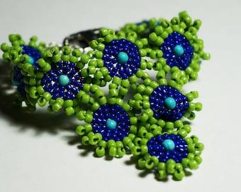 """Seed Bead Bracelet - """"Zoa"""""""
