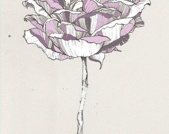Handmade Flower Illustration