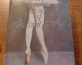 Balanchine's Complete Stories of the Great Ballets Book   George Balanchine Francis Mason 1977  OOP