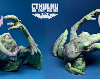 Cthulhu Lovecraft resin figure- Exclusive Mythos collectible