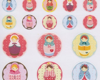 Russian Dolls | 199 | Planner Sticker | Kikki-K | Happy Planner | Erin Condren