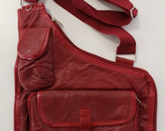 Multi-Use Handbag (Red)
