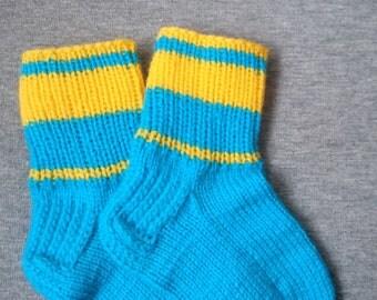 Knitted socks for children