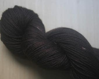 """Hand dyed 4ply sock yarn, indie dyed yarn, UK dyers, Scottish Dyers, merino nylon blend,semi-solid, """"Grouse"""""""