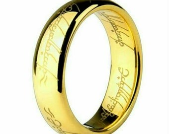 Brand New Lord of the rings stainless steel movie Ring.