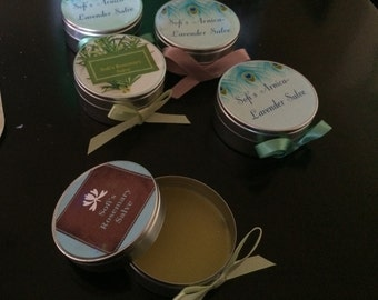 Herbal Salves and Candles