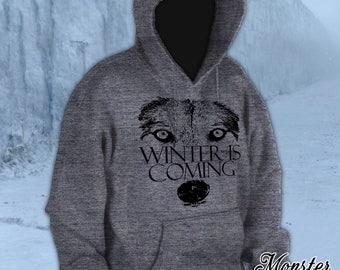 Winter is Coming - Wolf Hoodie