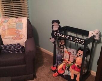 Stuffed animal zoo (storage)