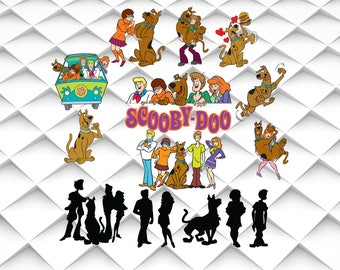 Scooby Doo SVG,jpg,png,eps for Design/Print/ Silhouette Cameo/Cricut and Many More
