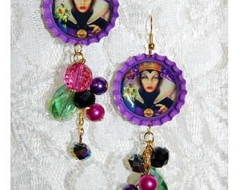 The Evil Queen Disney Inspired Earrings