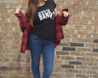 I'm with the Band, Bridal T-shirt