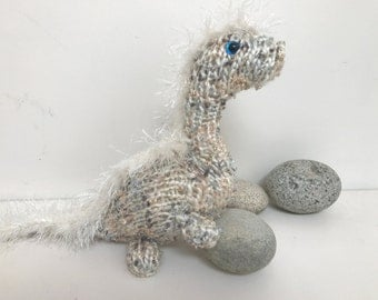 Hand-Knit Baby-Safe Dragonet Doll