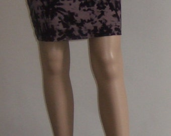 The p'tite pencil skirt reversible place/upside down in beautiful jersey printed