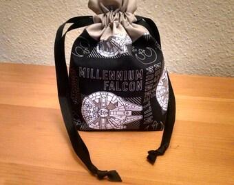 LIMITED Star Wars Dice Bag Millennium Falcon